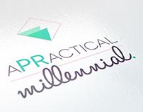 aPRactical Millennial Logo Design