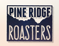 Pine Ridge Coffee Logos