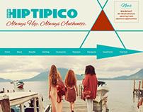 Hiptipico Online Shop Rework Concept inc Logo/Branding