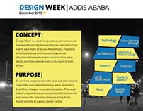 DESIGN WEEK | ADDIS ABABA