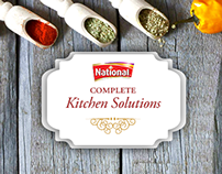 National Foods Digital Campaign for Recipe Range
