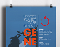 His Voice Poetry Genesis Poster