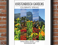 Kirstenbosch Gardens Tourist Awareness Poster