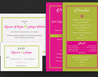 Tropical Wedding Package Template