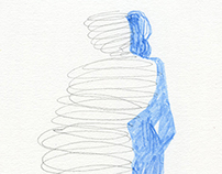 Sketches - nude models / SERIES 1