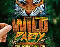 Wild Party Flyer
