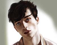 Digital Portrait of Martin Conte