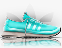Photoshop rendering /// Adidas