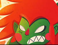 Blanka Vs Chang y Choi