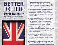 Scottish Referedum flyer
