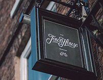 The Town House Durham Branding & Sign Painting