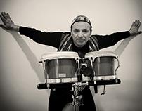Tony Cercola ; photo by Augusto De Luca