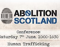 Logo and Flyer for Abolition Scotland