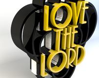 3D Rendered Typography