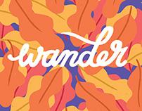 Wander like a breeze