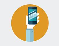 Animated Phone Icon