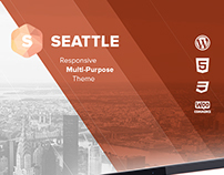 Seattle - Responsive Multi-Purpose WordPress Theme