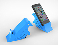 Injection Moulded Phone Stand