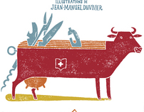 Jean-Manuel Duvivier's Children Books illustrations
