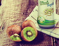 Kiwi yogert