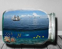 World in a Jar