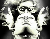 Frankenstein Junior homage
