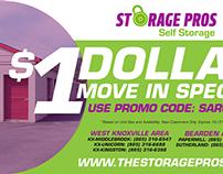 Storage Pros: Knoxville Print Ad