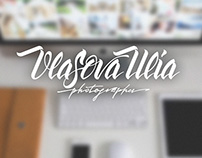 Lettering logo for photographer