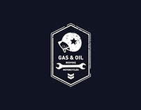 Gas & Oil Bespoke Motorcycles / Branding