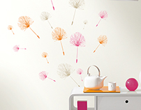 Caselio - Trendy 2 Wall Stickers Collection