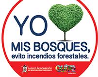Cuerpo de Bomberos de Quito. Campaña 2014