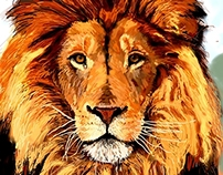 Majesty - digital painting