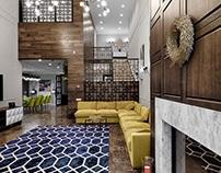Interior for «Prairie house»