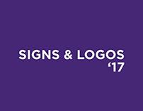 Signs & Logos'17