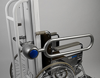 Wheelchair security Device