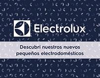 Folleto de Pequeños Electrodomésicos para Electrolux