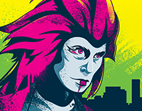 Adobe Max 2014 - Kaiju Posters