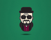 BREAKING BAD Character Set Icon