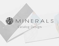 Minerals Catalog Design