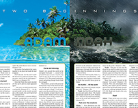 Adam and Noah article design