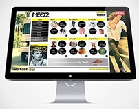 NEO 2 magazine website