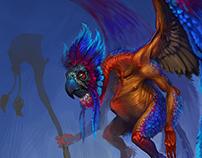 Winged Shaman W.I.P.