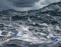 NZ Coastguard 'Lanes' print