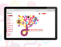 Web Design | SingTel Sustainability Report 2013