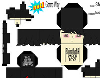 Paper Toys-Serie IDoll