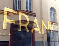 Frank's gold leaf window