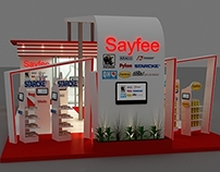 SAYFEE car care booth