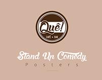Poster Quê Cafe-Bar