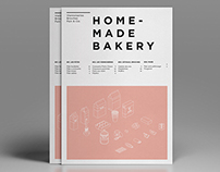 HOMEMADE BAKERY // EDITORIAL DESIGN