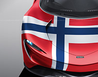 McLaren Speedtail Countries Edition vol.6